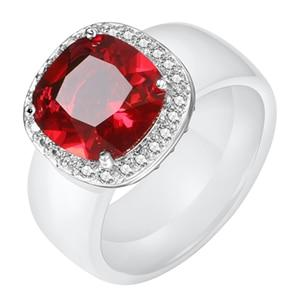 Big Square Pave Crystal CZ  Ring - jewels-genie-store - jewelry