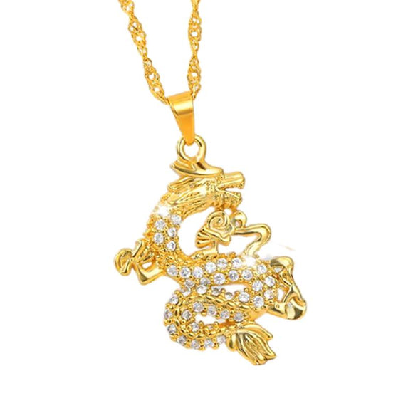 Dragon Pendant Necklaces Jewelry at Jewels Genie