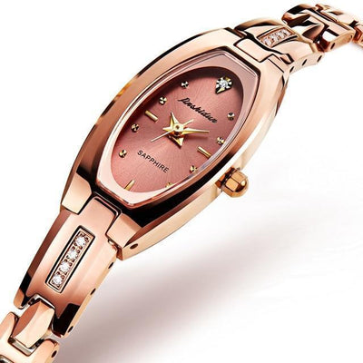Ladies Watch Tungsten Steel Jewelry at Jewels Genie Color: Rose Gold USA
