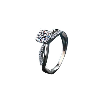 Luxury Moissanite Silver Ring Jewelry at Jewels Genie
