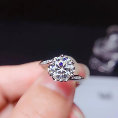 Moissanite Wedding Rings - jewels-genie-store - jewelry