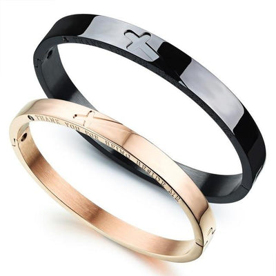 Stainless Steel Bracelets For Lovers Jewelry at Jewels Genie