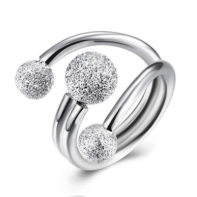 Surround Design Ball Adjustable Rings - jewels-genie-store - jewelry