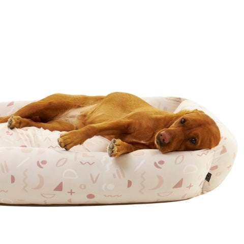 Settle Abstract Large Dog Bed