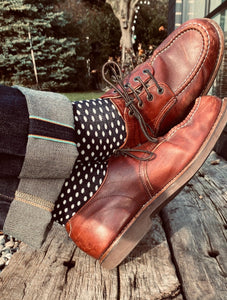 GIFT YOUR SOLE MATE - The Classic Ugley Mens Spot sock