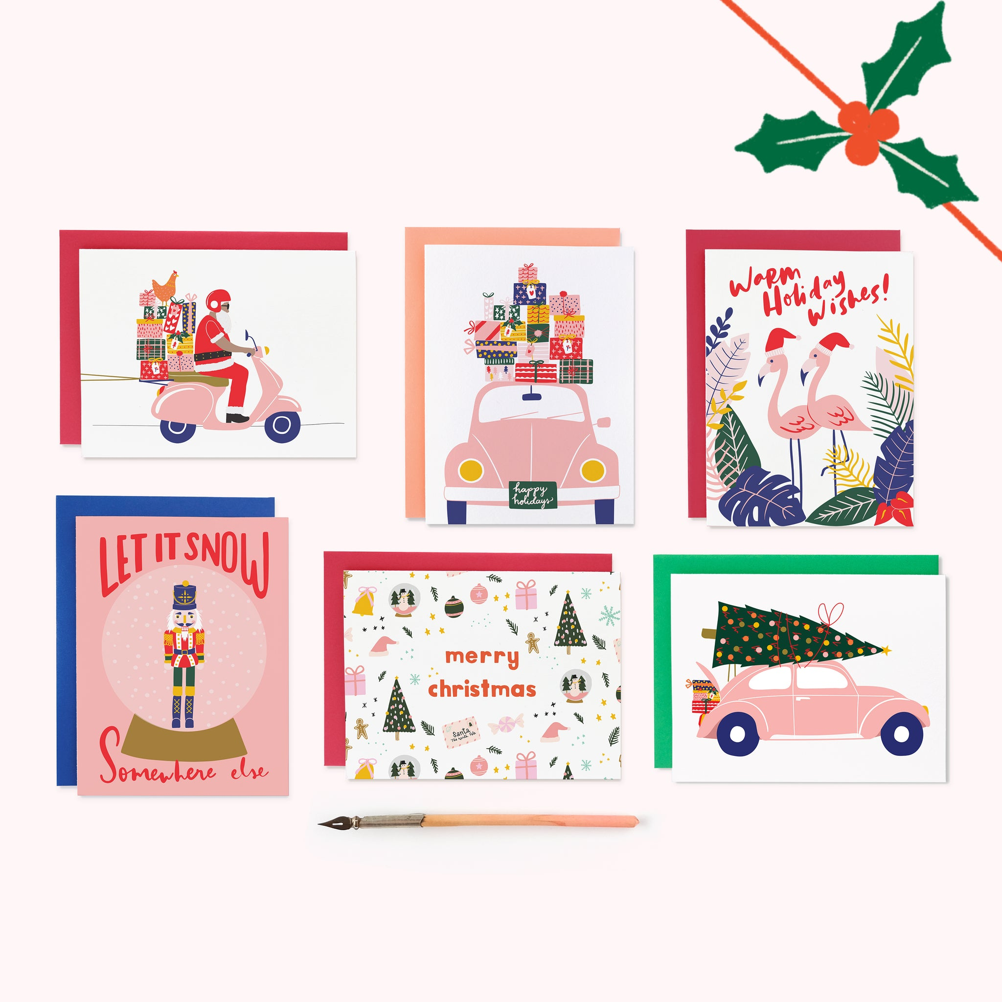 DELUXE HOLIDAY CARD BUNDLE