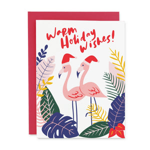 HOLIDAY FLAMINGOS