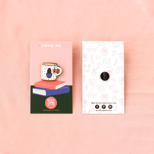 TEARIFIC ENAMEL PIN