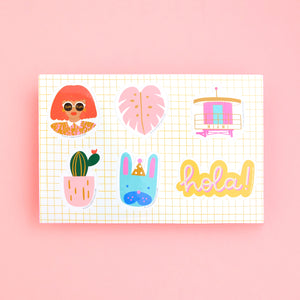 ICONS STICKER SHEET
