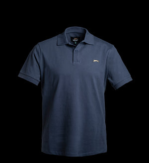 JACK COTTON POLO PIQUE - NAVY