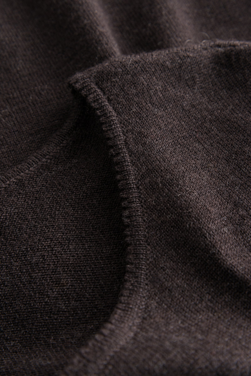 CASSIA MERINO DARK BROWN