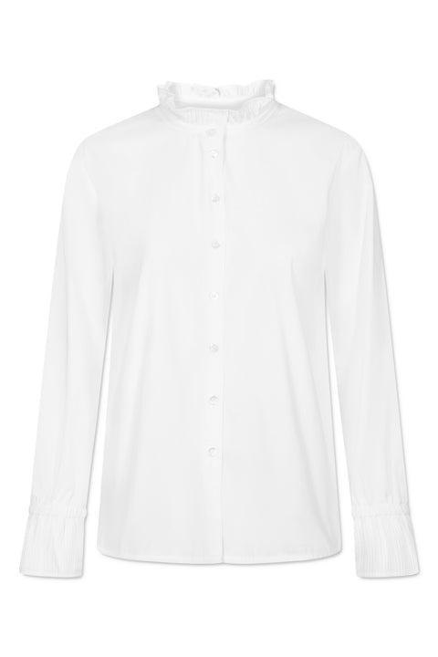 DICTE POPLIN STRETCH WHITE