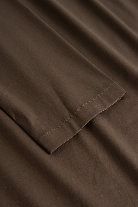 ELLONA FANCY POPLIN DARK BROWN