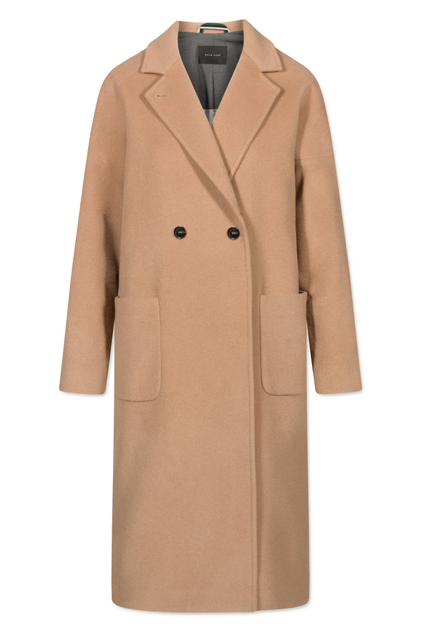 GEENA FURRY WOOL CAMEL