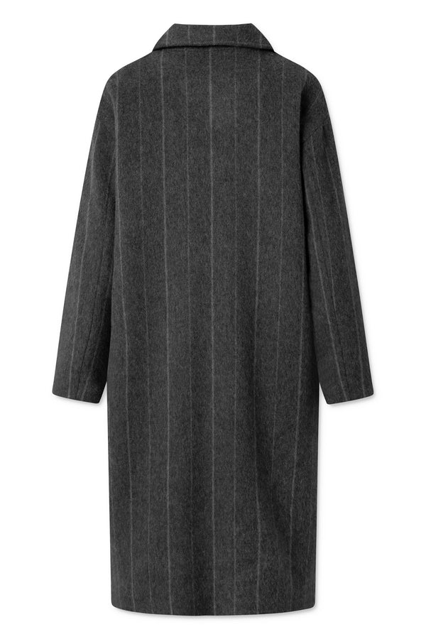 IDA PINSTRIPE DARK GREY