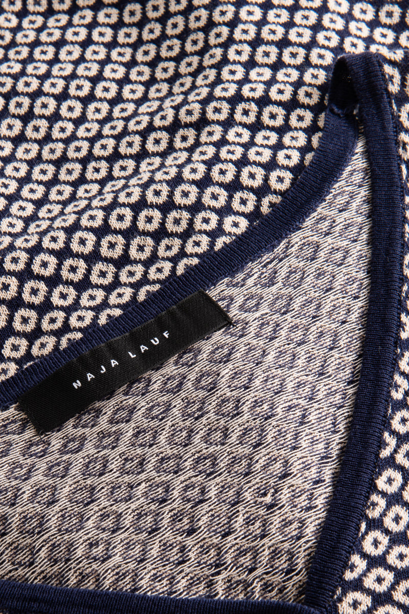 LORELEY COTTON KNIT BLUE