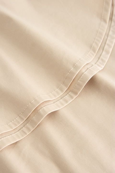 LYDIA FANCY POPLIN BEIGE