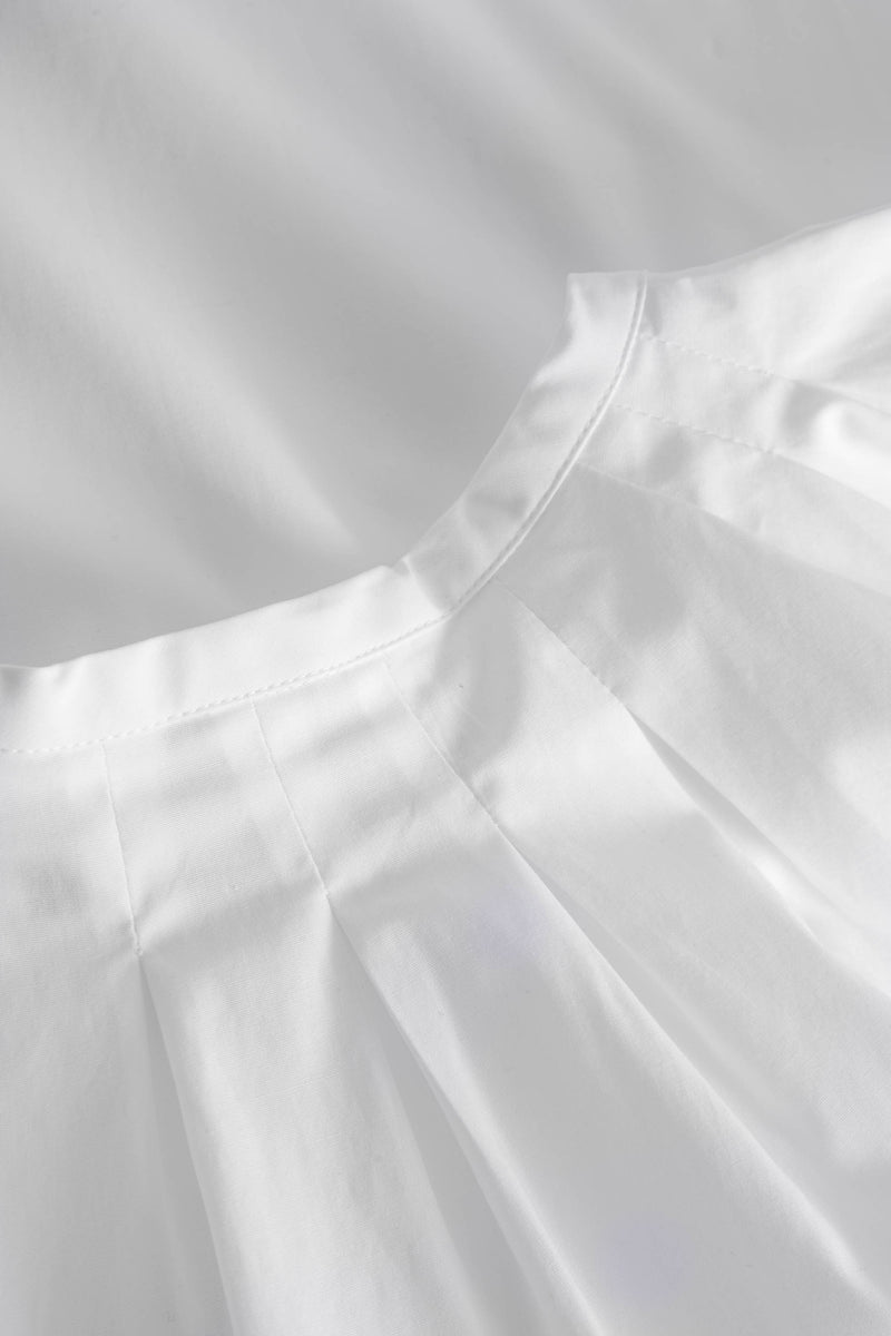 LOTTA POPLIN STRETCH WHITE
