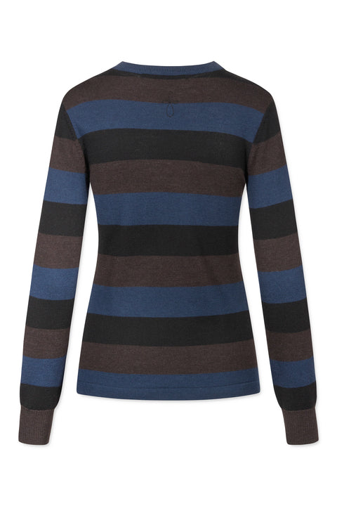 LORA MERINO STRIPED