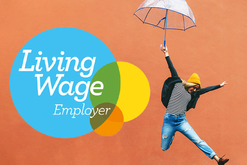 Proud to be an accredited Living Wage Employer!