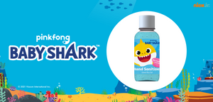 Main banner for the Baby Shark collection at Vital Life