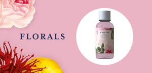 Main banner for the Florals collection at Vital Life