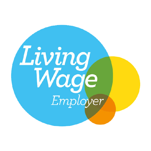 Accreditation logo for Living Wage Employer