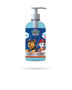 250ml PAW Patrol bubblegum scented hand sanitiser gel from Vital Life