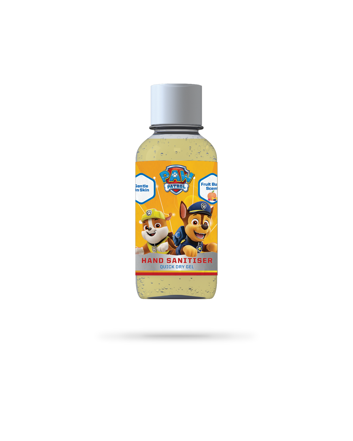 50ml PAW Patrol fruit burst scented hand sanitiser gel from Vital Life