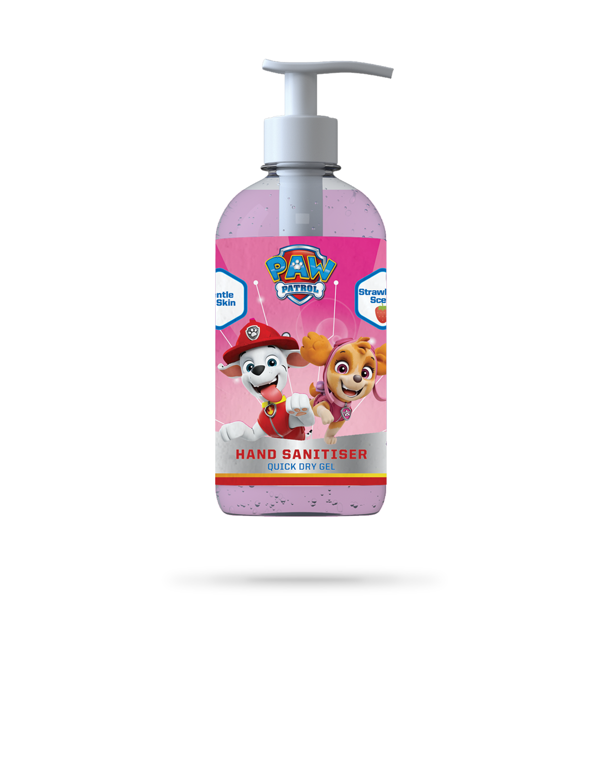 Strawberry Hand Sanitiser Gel - 250ml - PAW Patrol