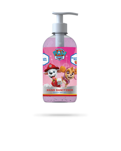 250ml PAW Patrol range of Strawberry scented hand sanitiser gel from Vital Life