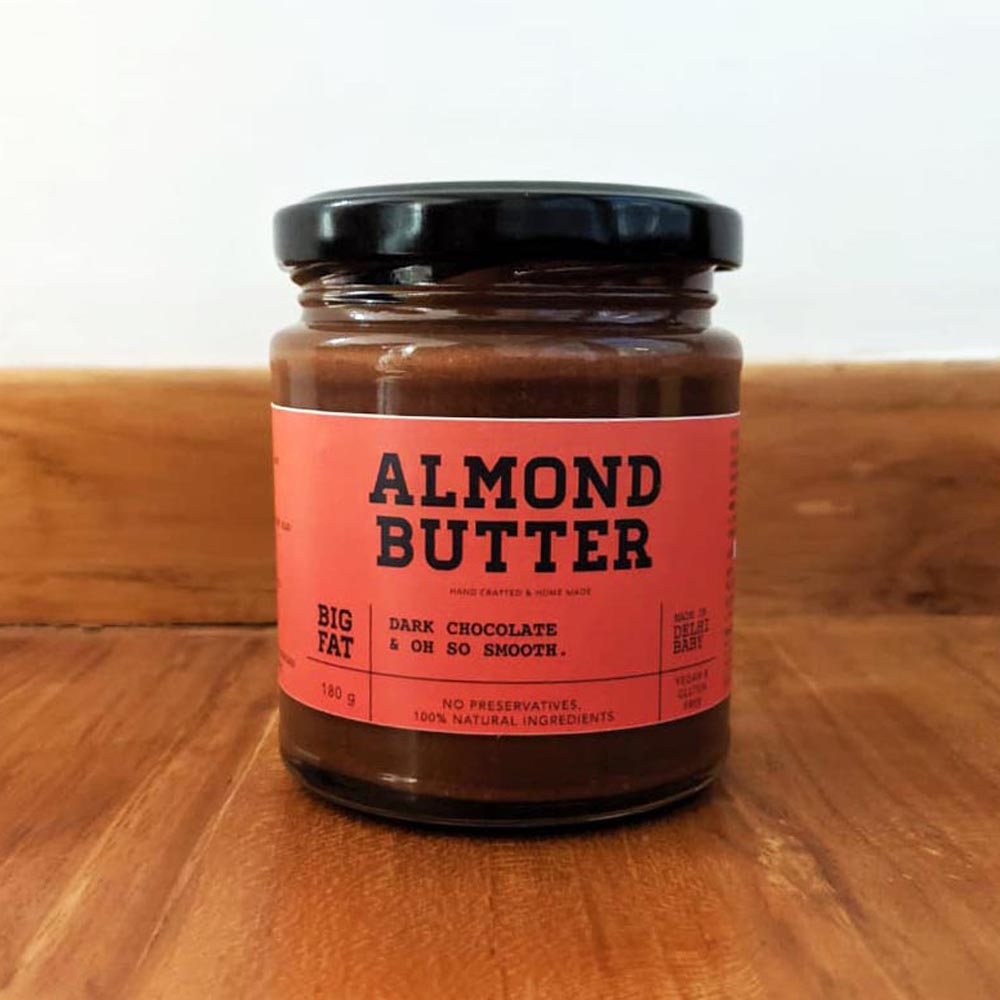 Almond butter dark chocolate & oh so smooth 180g