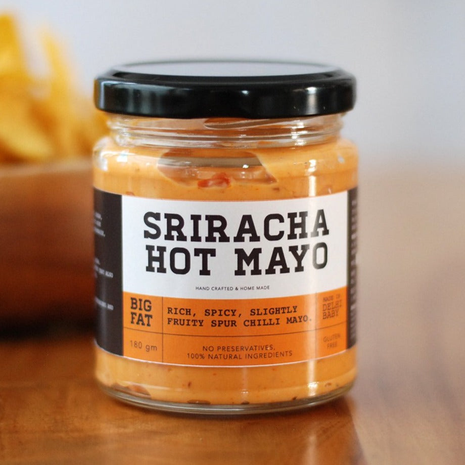 Sriracha hot Mayonnaise