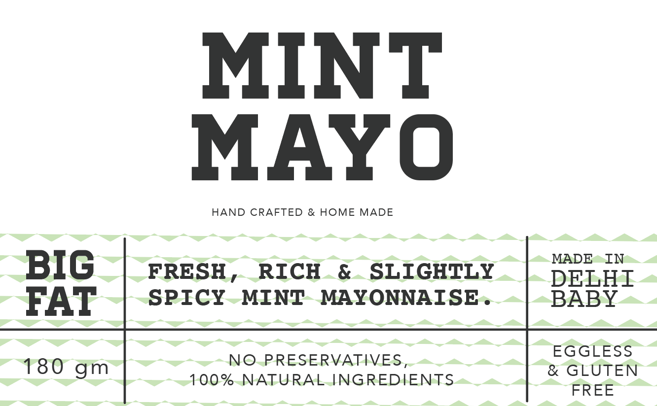 Mint mayonnaise 180g