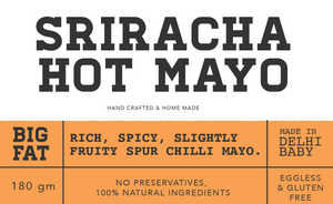 Sriracha hot Mayonnaise 180g