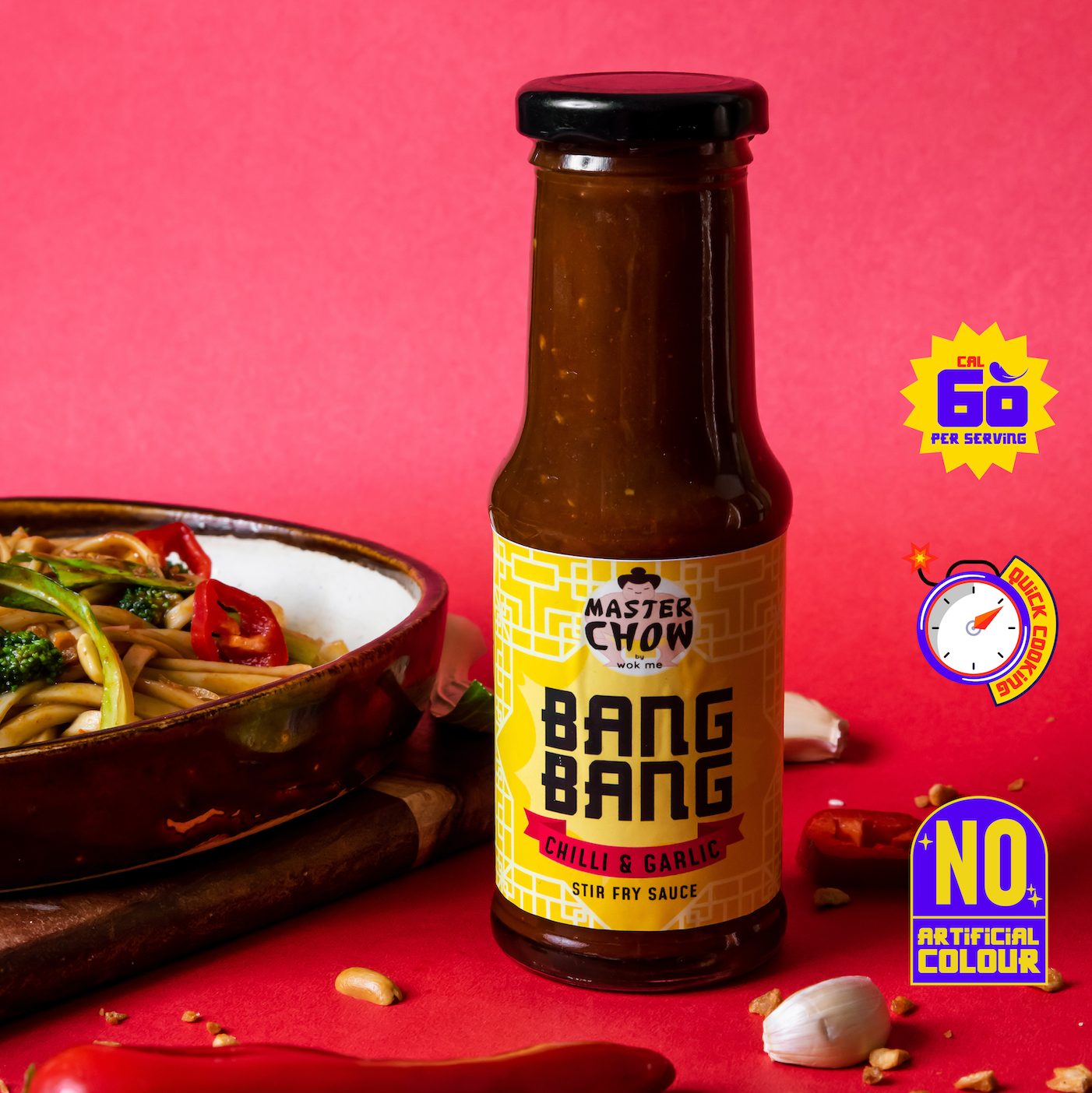 Bang Bang - Chilli & Garlic stir fry sauce