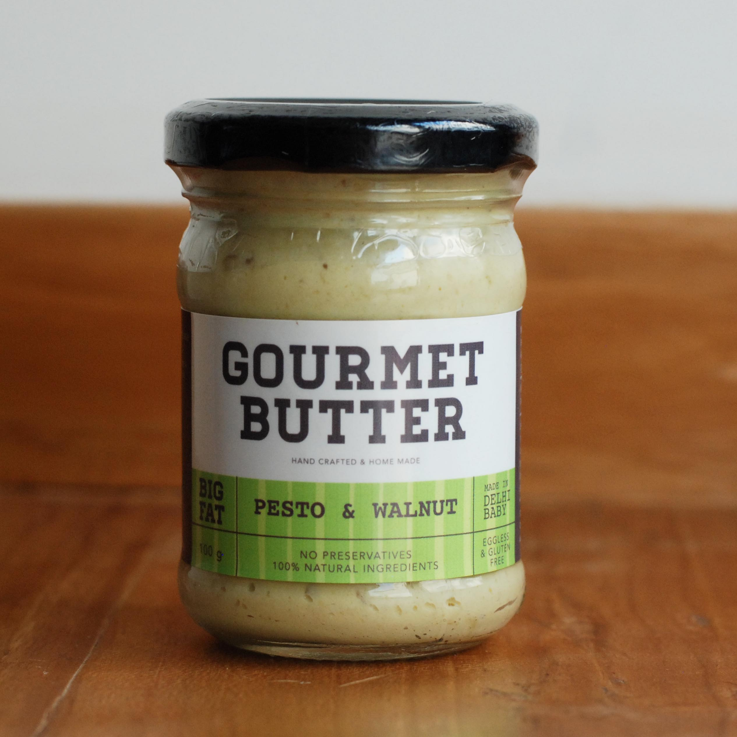Pesto and walnut butter 100g
