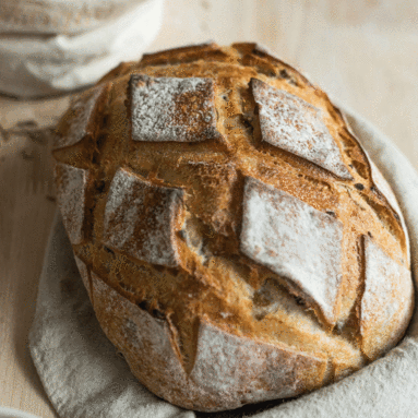 Olive and rosemary Sourdough loaf 450g