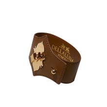Load image into Gallery viewer, Leone e Stella Leather  Bracelet Brown