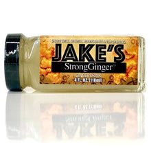 Load image into Gallery viewer, Jake's StrongGinger is available in 4-ounce bottles which fit perfectly in your purse, car, desk, or pretty much anywhere! Shop Jake's StrongGinger today!