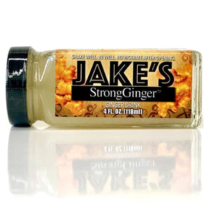 Jake's StrongGinger is available in 4-ounce bottles which fit perfectly in your purse, car, desk, or pretty much anywhere! Shop Jake's StrongGinger today!