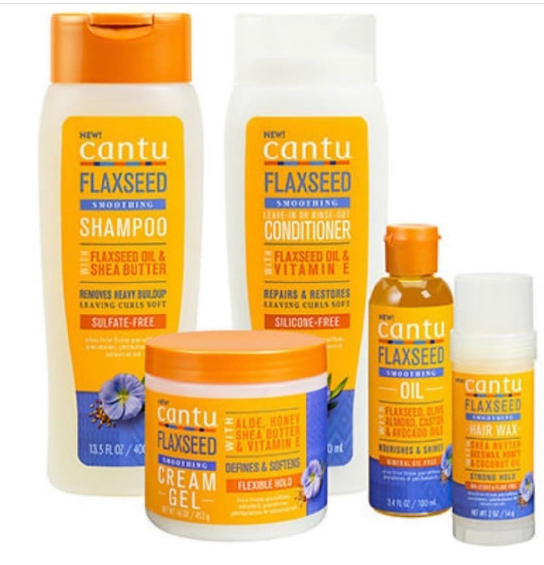 5 Reasons why you must try the NEW Cantu Flaxseed Collection