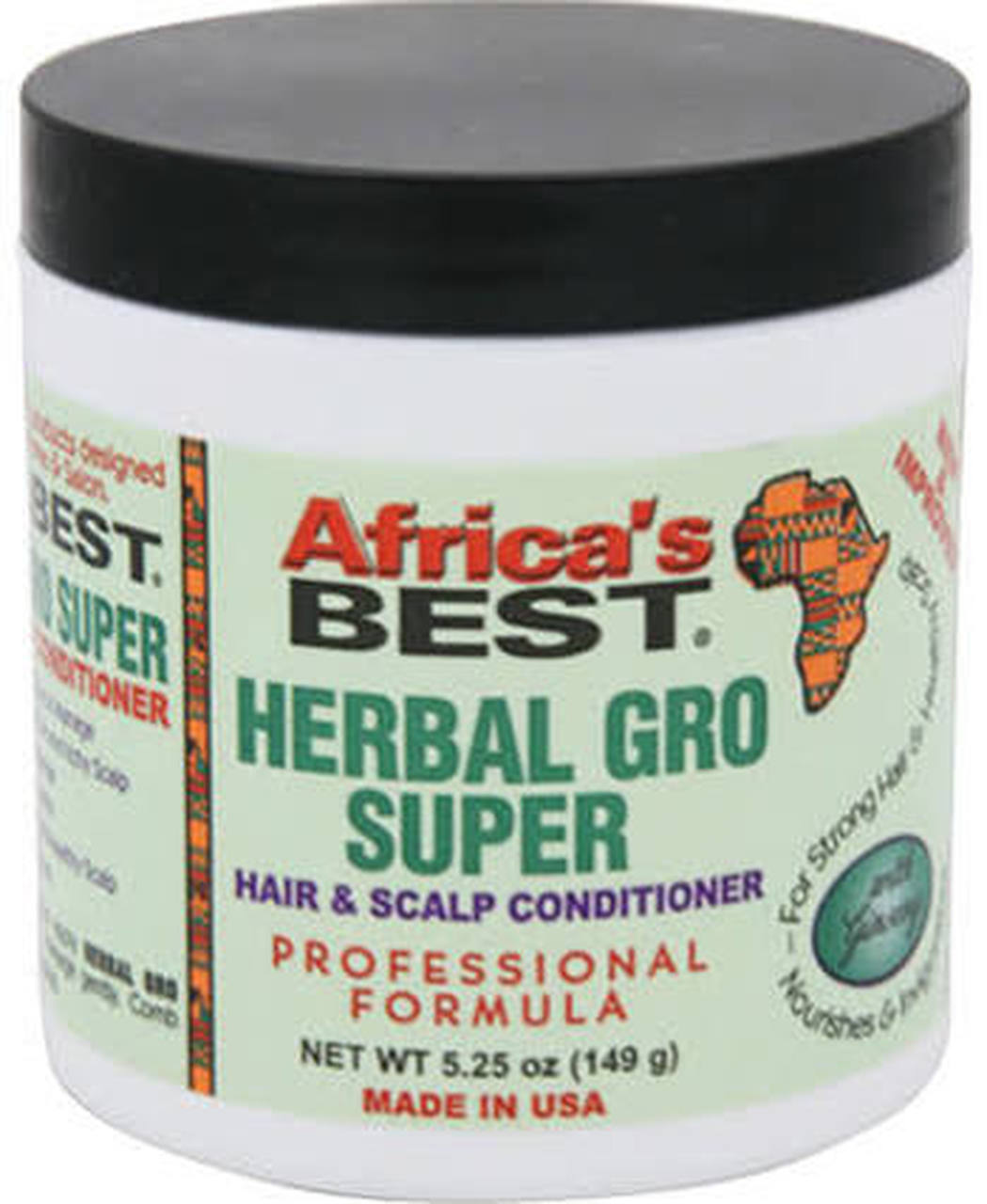 Africa's Best Herbal Super Gro Hair and Scalp Conditioner 5.25oz