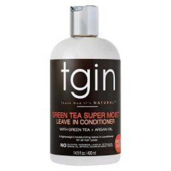 TGIN GREEN TEA SUPER MOIST LEAVE-IN CONDITIONER 13OZ