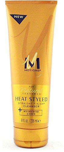 Motions Heat Styled Straight Finish Cleanser (8oz)