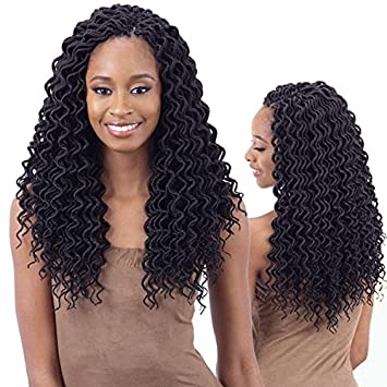 2X Soft Curly Faux Loc 14""