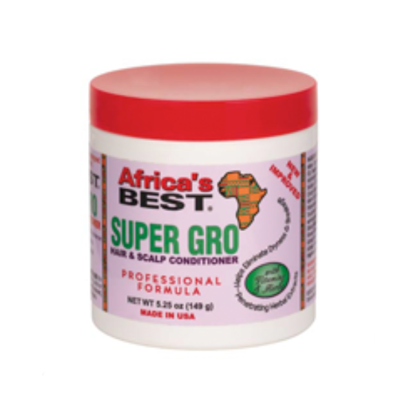 Africa's Best Super Gro Hair and Scalp Conditioner 5.25oz