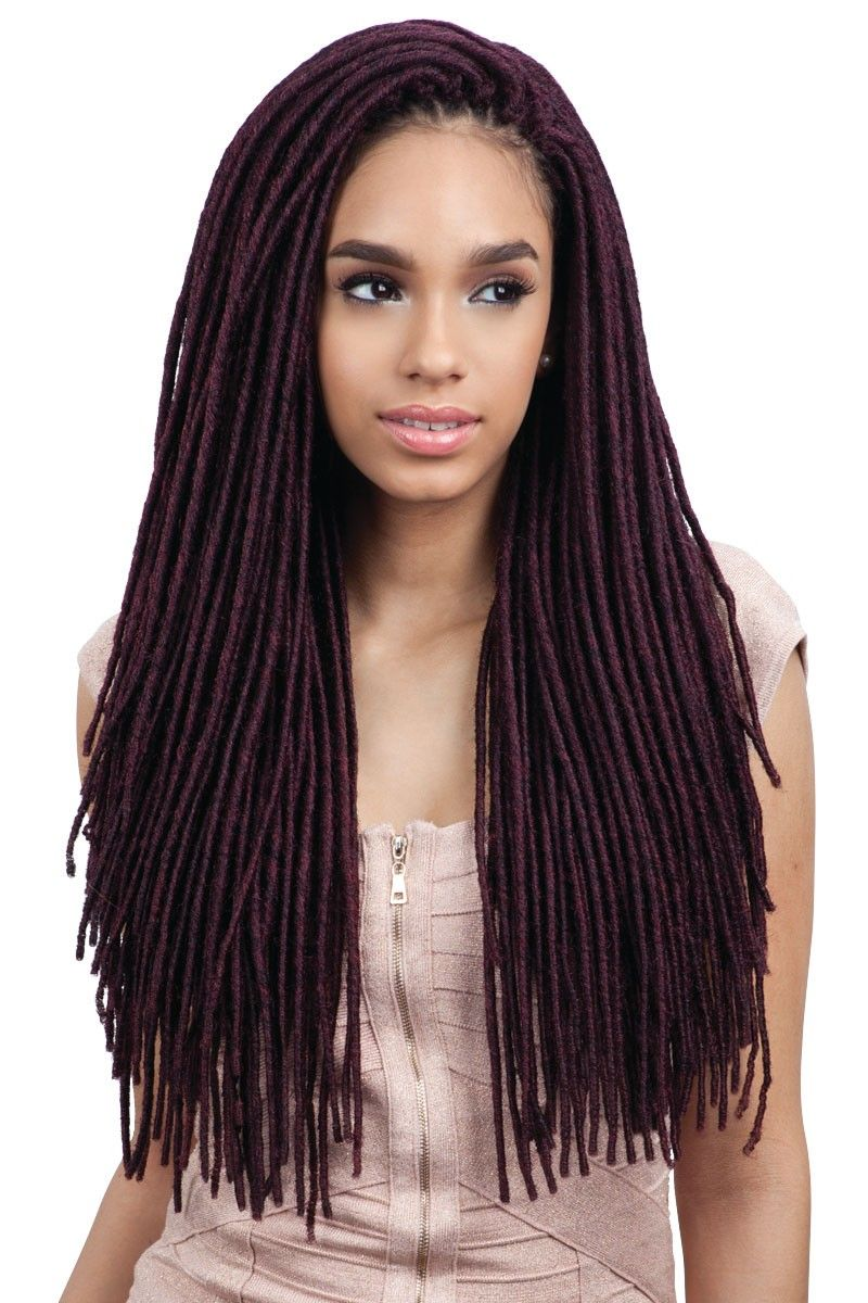 2X Medium Soft Faux Loc 20""