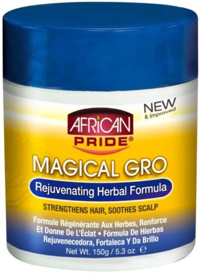 African Pride Magical Gro Rejuvenating Herbal Formula 150g - 5.3oz