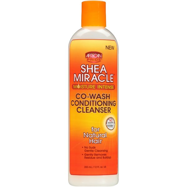 African Pride Shea Miracle Co-Wash Conditioning Cleanser 355ml - 12oz